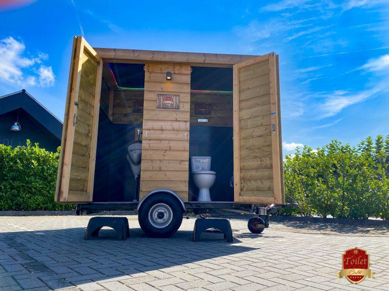 Het Toilet Chalet toiletwagen verhuur